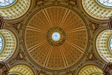 The Library of Congress Ceiling