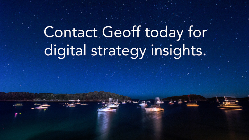 Contact Geoff Today!