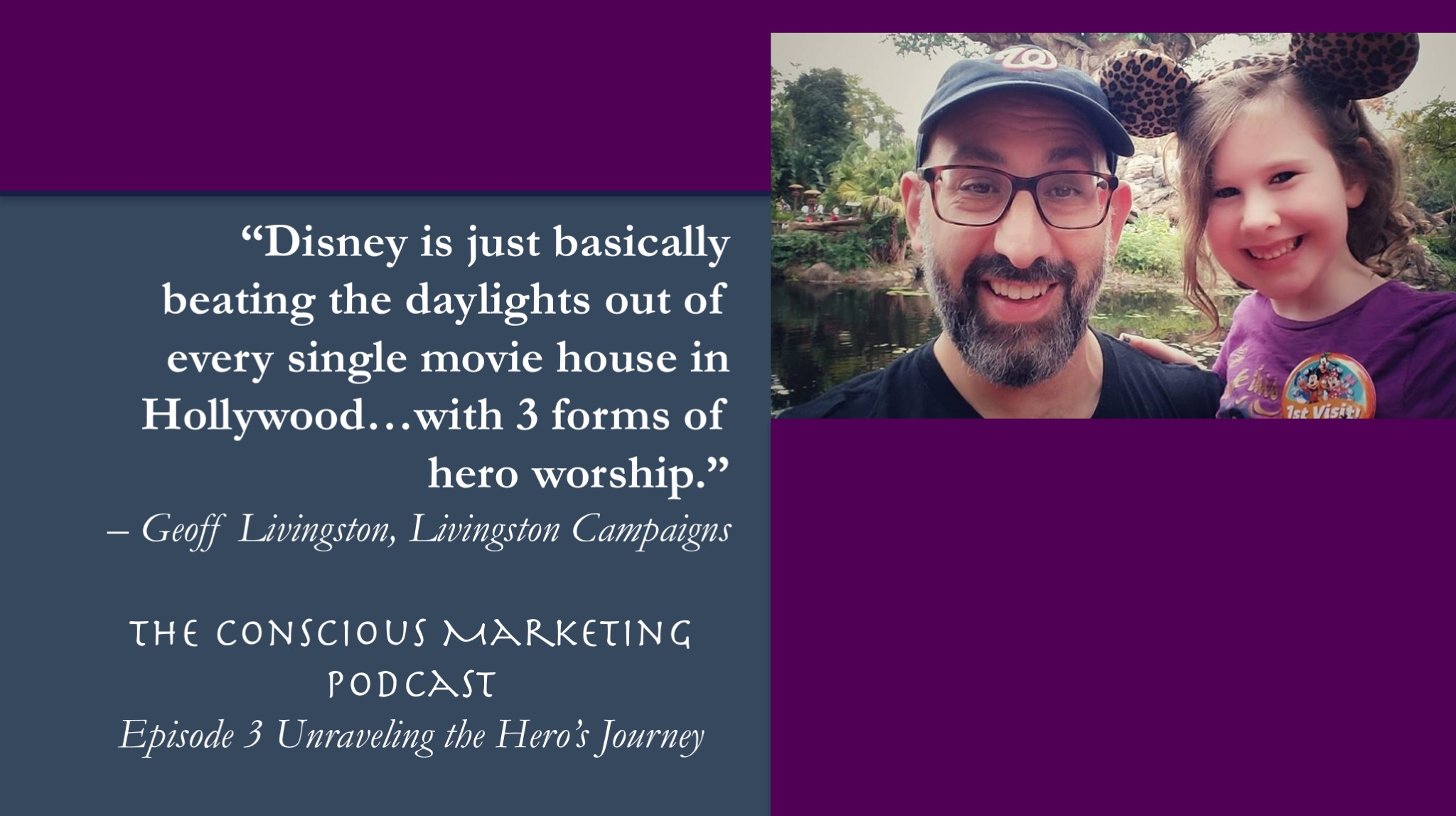 Geoff Livingston on the Hero's Journey